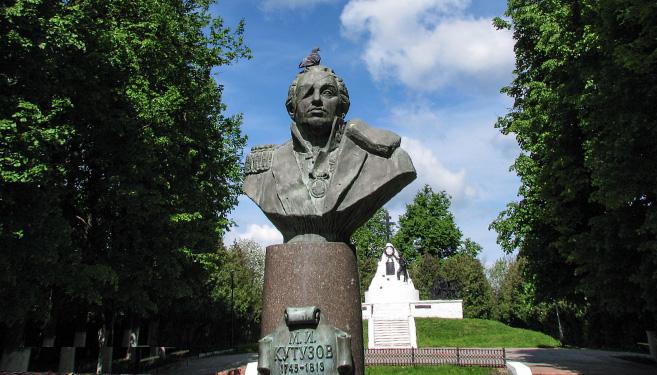 Бюст великого полководца - Михаила Илларионовича Кутузова