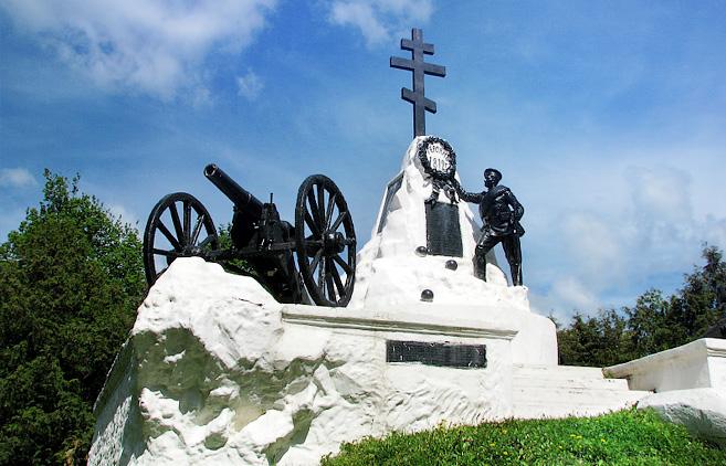 Памятник воинам погибшим в Малоярославецком сражении 1812 г.